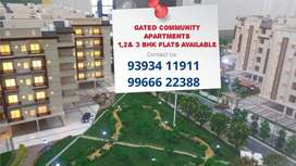 At Patancheru Gated Aart 2,3&4 Bhk flats for Sale