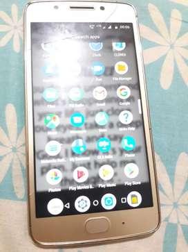 Moto G5 finger lock phone