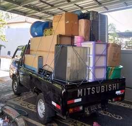 Melayani sewa pick up untuk pindahan, rental mobil pickup + driver