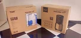 Casing terlaris Vulcan v1x white full atx bonus fan