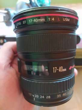 Canon 17-40mm f4 L Series