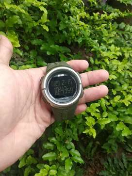 Jam tangan outdoor skmei 1286 green army original tahan air
