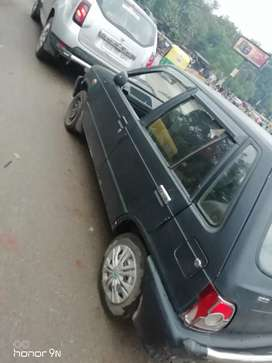 Well maintained  car for sale in mat black clour