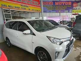 Toyota calya type G putih 2018 at siap pakai siap terima nama pembeli