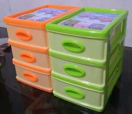Laci mini 19x13x19cm susun3, mini container SHINPO