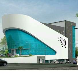 Commercial space -1st & 2nd floor - for rent at Vadakara highway