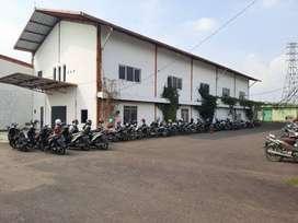 Dijual Pabrik Garmen Aktif Lokasi Cimahi Batujajar