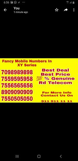 Largest collection  of v vip mobile numbers