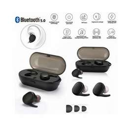 Bluetooth 5.0 Headphone,Mini Hands-Free Headsets,Touch Earbuds