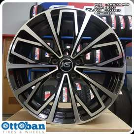 Velg CRV Rush Terios Civic CX5 murah KS Wolf R18X8 hole 5x114.3 ET 42