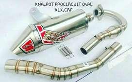 Knalpot procircuit oval klx crf barang baru