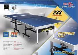 Meja Pingpong Tenis Meja Double Fish 233 Import Original