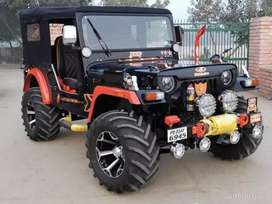 Open jeep modified