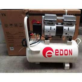 EDON Kompresor Oiles 0.75HP 25L Silent Oiless Compressor Oilless imola