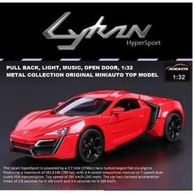 Miniauto Lykan Hypersport Fast Furious Diecast 1:32