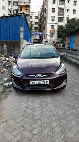 Hyundai Fluidic Verna 1.6 CRDi SX, 2011, Diesel