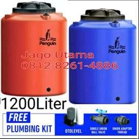 water tank, tandon, tangki air dijual karena kebesaran