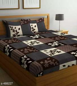 It Has 1 Piece Of Double Bedsheet With 2 Pieces Of Pillow Covers   Wo