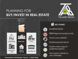 NO BROKERAGE, 500+ PROPERTIES, LOAN AVAILABLE, FLEXIBLE PAYMENT TERMS