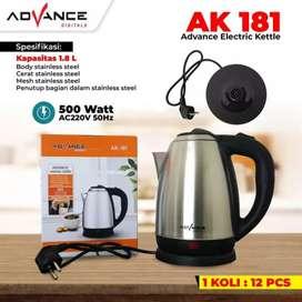 Kettle Elektrik Advance AK-181 Teko Listrik Advance