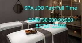 Urgent required MALE FEMALE for S.P.A WORK