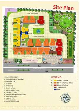 2bhk flat for sale in aggarwal heights rajnagar extension ghaziabad