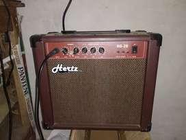 Hertz amplifier  brown  color