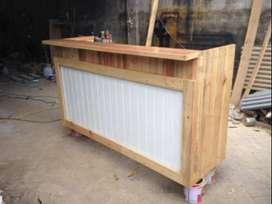 Meja Mini Bar Cafe Resto dari Kayu Jati Belanda