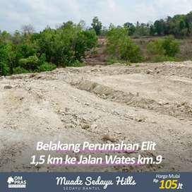 Tanah Murah Yogyakarta dengan suasana Desa dan Bali,cocok untuk hunian