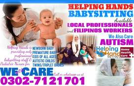 FILIPINOS-LOCAL Babysitters-Nannies Available-We Care Premature Baby