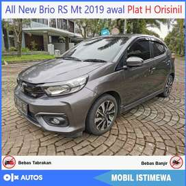 [Dp25jt] New Brio RS mt 2019 Awal Low km bs kredit