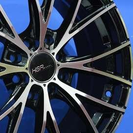Velg/Pelek Mobil HSR - NAPLES 12283 Ring15x65 Lubang8 BMF