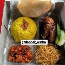 Paket komplit dan ekonomissss (nasi kotak halal)