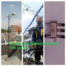 UHF PASANG ANTENA TV HD DIGITAL