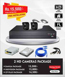 CCTV Cameras Solution in Affordable Prices with one year Warranty