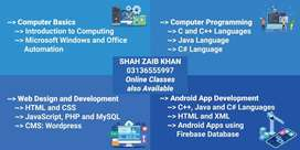 Computing, Programming, Web Development, Android Development