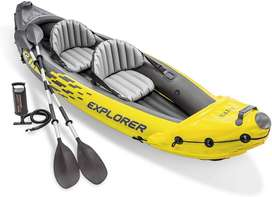 "INTEX Kayak Boat Explorer K2 For 2 Person (123""x36""x20"")"