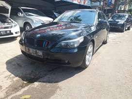 BMW 520i e60 tahun 2005 hitam