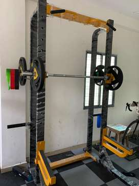 Power Rack and Multi purpose bench for gym