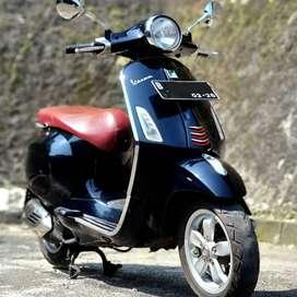 Vespa Primavera 3V 2015, Pajak Panjang, bisa TT dari Vespa Modern.
