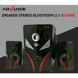 COD Speaker Bluetooth ADVANCE M160BT Original - ADVANCE M160 BT Blueto