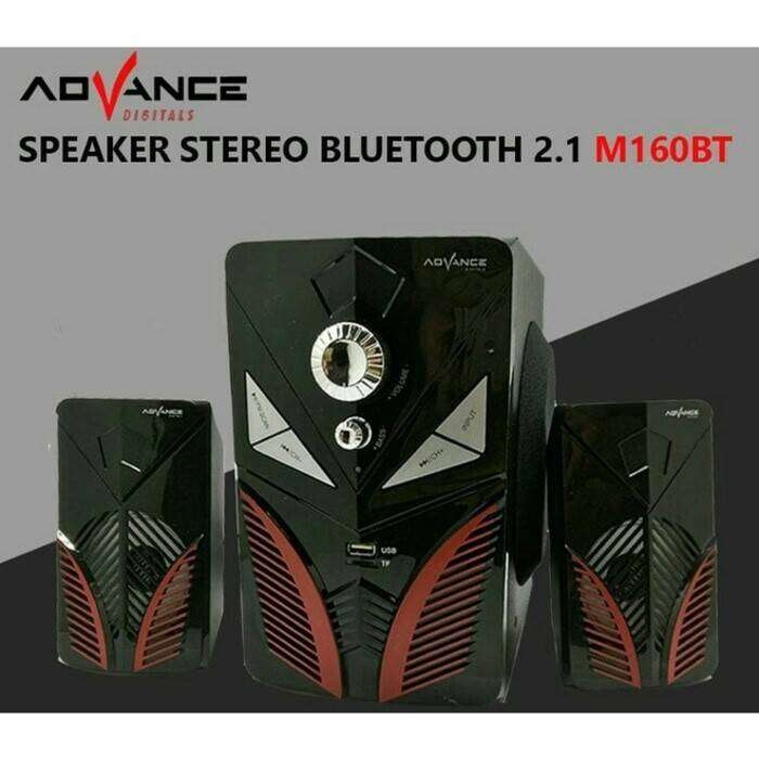 COD Speaker Bluetooth ADVANCE M160BT Original - ADVANCE M160 BT Blueto 0