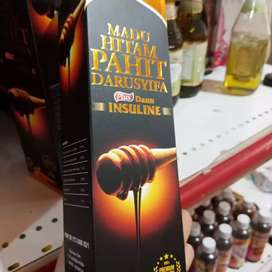Madu Hutan Pahit Darusyifa Plus - Daun Insulin Isi 470 gram Ready