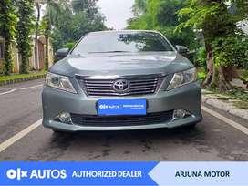 [OLX Autos] Toyota Camry 2012 2.5 V A/T Bensin Silver #Arjuna Motor
