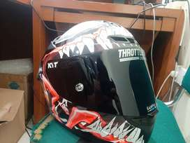Visor Dark Smoke Original KYT TT Course