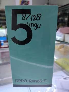 OPPO RENO 5f , bisa TT , cash , kredit
