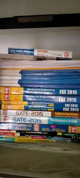 Made easy books set for GATE and UPSC  ESE