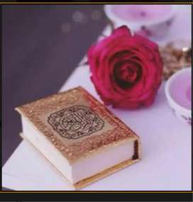 Female Quran tutor available.
