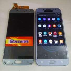 Lcd Touchscreen Samsung J7 Pro AA Gold Black + Pasang