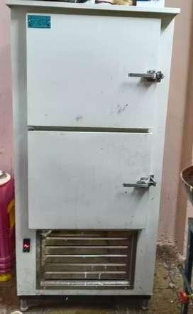 Kitchen bottle counter fridge